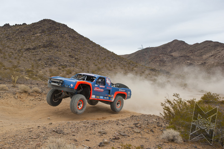 Householder Takes 2nd at the Mint 400